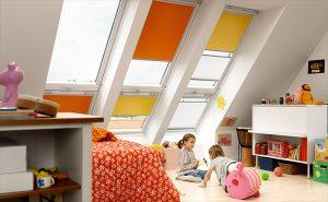 Velux raamdecoraties Hennie's Zonwering