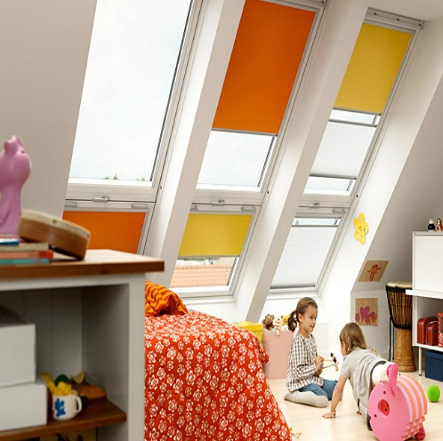 Velux raamdecoraties Hennies Zonwering
