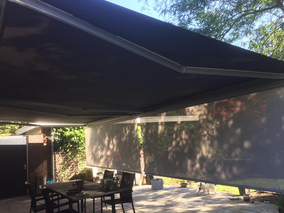 Promovideo's terrasscherm Hennie's Zonwering